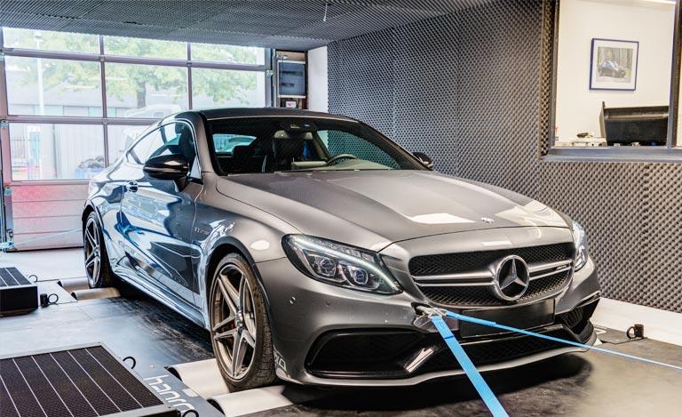 Mercedes Benz C63 AMG S chiptuning – Dat geluid!