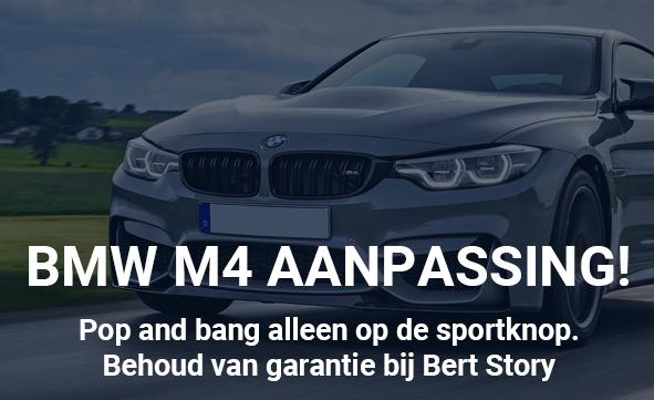 BMW M4 – Aanpassing!