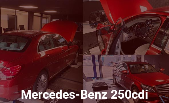 Mercedes-Benz 250cdi – Stage 1