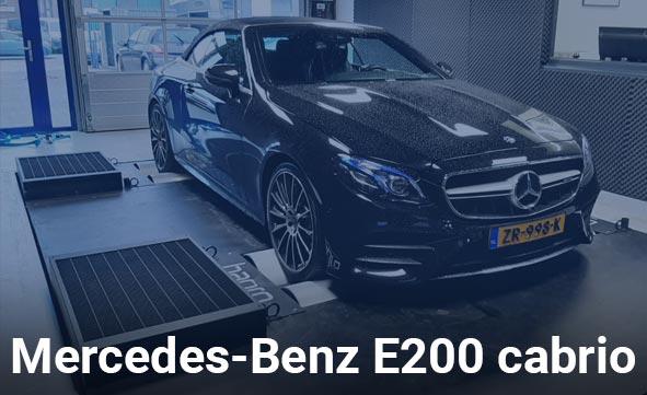 Mercedes-Benz E200 cabrio
